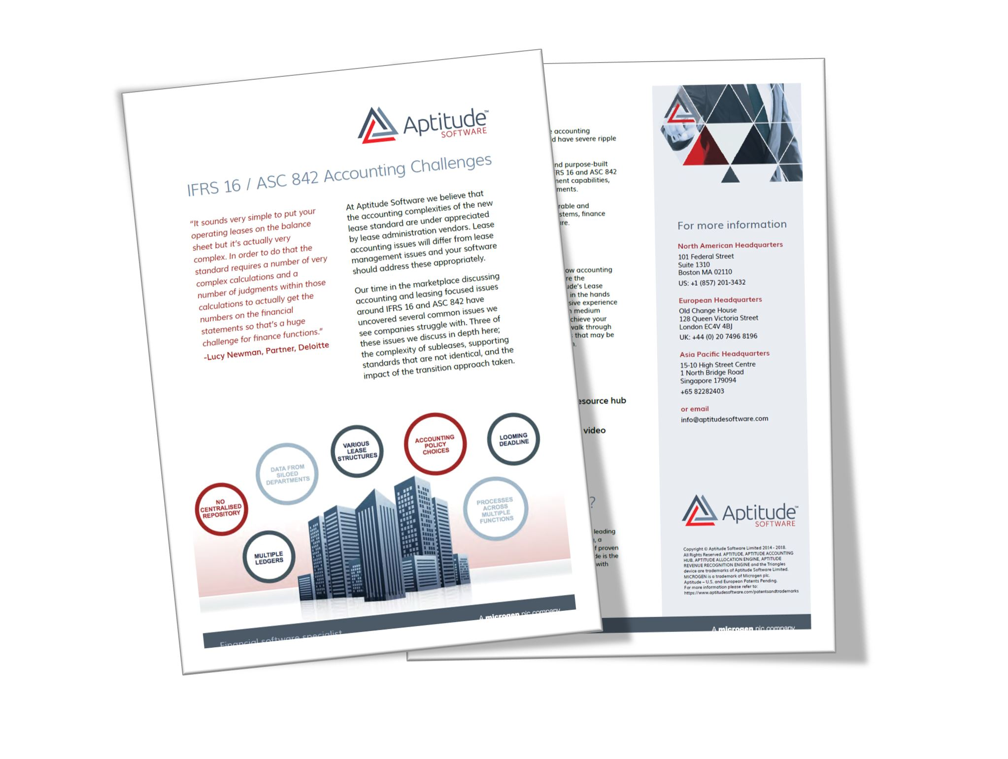 Lease accounting complexities brochure